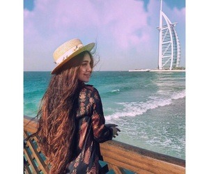 Dubai, girls, and summer image