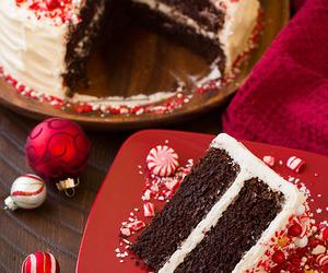 cake, holidays, and christmas image