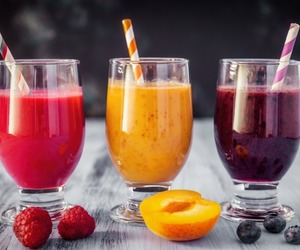 apricot, berries, and raspberry image