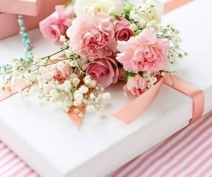 flores, lindo, and regalo image