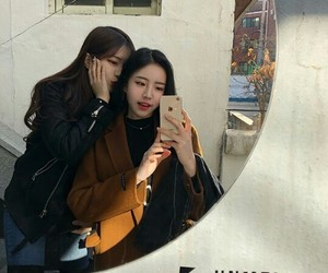 asian, lesbians, and couple image