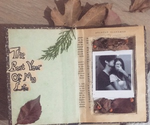 book, couple, and gift image