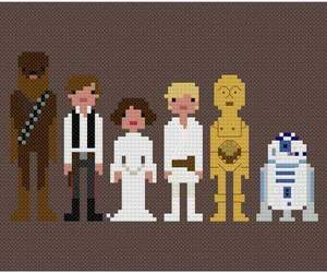 c3po, r2d2, and chewie image