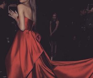zendaya, red, and dress image