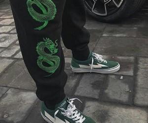 fashion, green, and grunge image