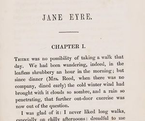 books, jane eyre, and literature image