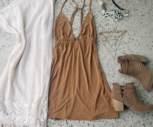 booties, cardigan, and clothes image