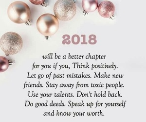 2018, new year, and quotes image