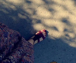 beautiful, chaussures, and ete image