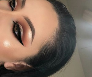 beautiful, perfect eyebrows, and inspiration image
