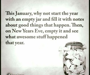 quotes, january, and new year image