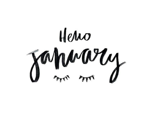 january, new year, and quotes image