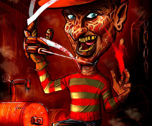 art, dreaming, and a nightmare on elm street image