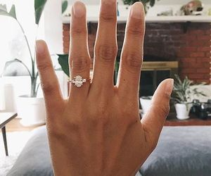 bride, love, and ring image