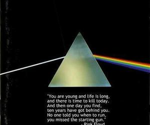 Pink Floyd, quotes, and time image