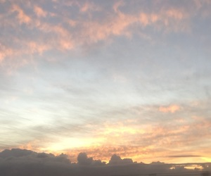 clouds, sunrise, and nature image