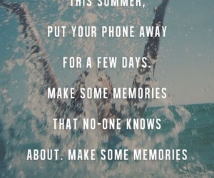 beach, life, and quotes image