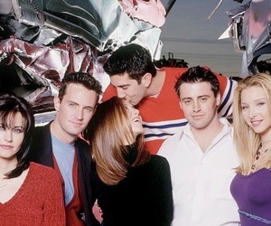 90s, cast, and chandler bing image