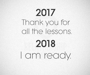 new year, quotes, and 2018 image