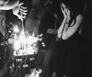 birthday, madison beer, and cake image