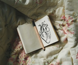 arte, bed, and draw image