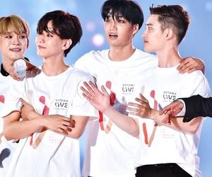 Chen, exo, and kai image