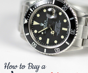 fashion, vintage watch, and buy vintage watches image