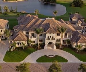 house, big, and home image