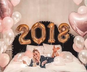 2018, balloons, and girl image