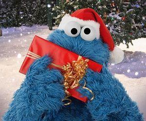 gift, blue, and christmas image