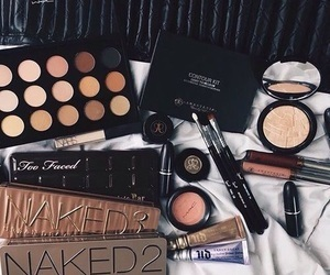 makeup, photography, and naked image