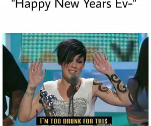 funny, happy, and new year image