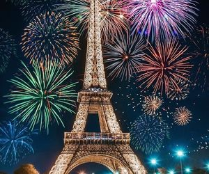 photography, fireworks, and happy new year image