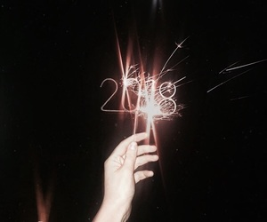 beauty, girl, and happy new year image