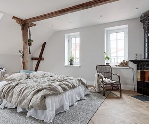 bedroom, home, and scandinave image