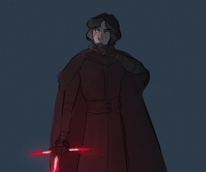 star wars, artists on tumblr, and force awakens image