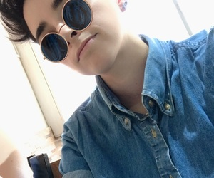 androgynous, boy, and tomboy image