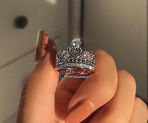 beautiful, ring, and fashion image