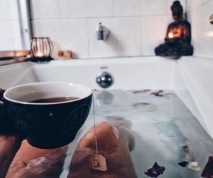 bath, comfy, and mug image