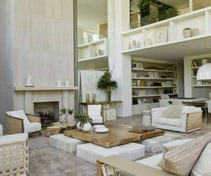 chill, living room, and white image