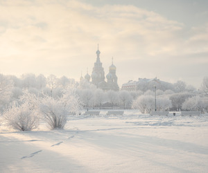russia and white image