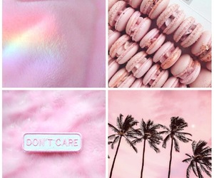Collage, collages, and pink image