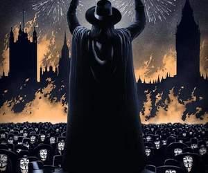 v, v for vendetta, and movie image