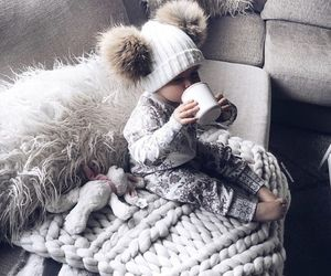 baby, cute, and winter image