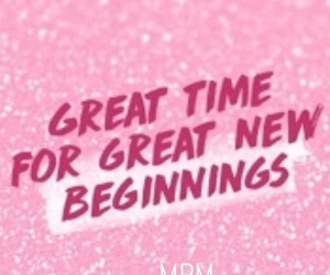 january, 2018, and new beginnings image