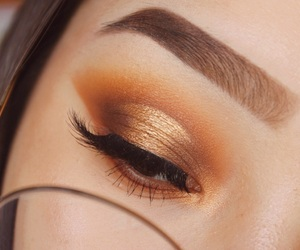 eyebrow, glasses, and cut crease image