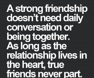 friendship, quotes, and friends image