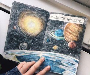 art, journal, and diy image