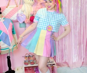fashion design, kawaii, and pastel image