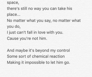 breakup, broken, and Lyrics image